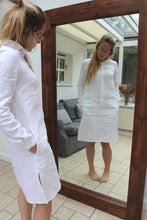 Load image into Gallery viewer, Chelsea -Linen shirt dress
