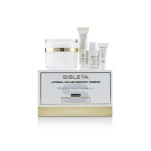 Sisleya L'Integral Anti-Age Discovery Program: Sisleya Face 50ml, Sisleya Lotion 15ml, Sisleya Eye 2ml, All Day All Year 10ml  4pcs