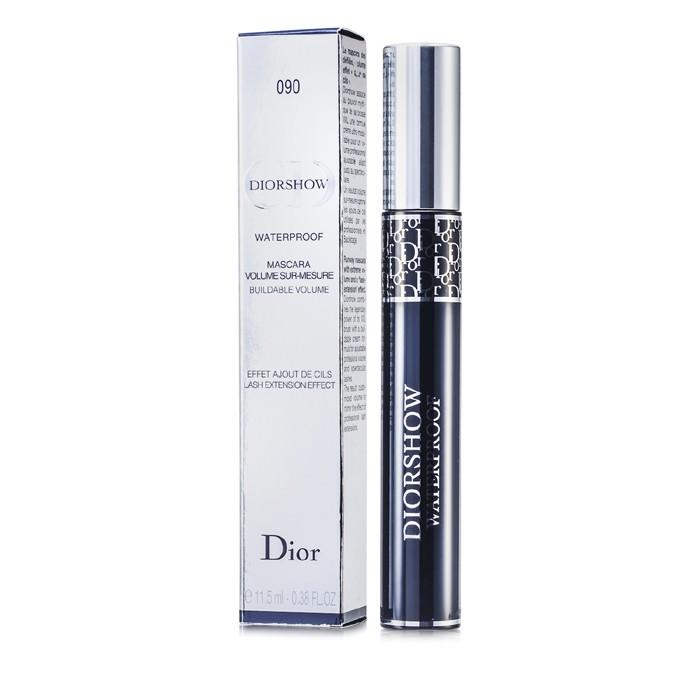 Diorshow Mascara Waterproof - # 090 Black - 11.5ml-0.38oz