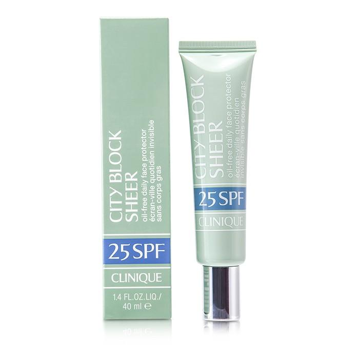 City Block Sheer Oil-Free Daily Face Protector SPF 25 - 40ml-1.4oz