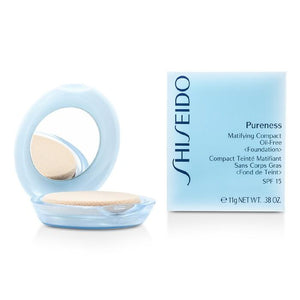 Pureness Matifying Compact Oil Free Foundation SPF15 (Case + Refill) - # 10 Light Ivory - 11g-0.38oz