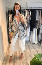 Load image into Gallery viewer, Malibu Twist Front Robe -  SKY