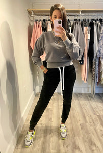 Burnout Sweater - GRAY