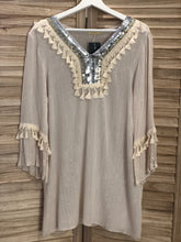 Load image into Gallery viewer, Lola Cover Up - sand color