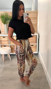 Goddess Pants in Snake