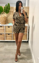 Load image into Gallery viewer, Lana Leopard Romper