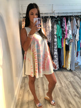 Load image into Gallery viewer, Beach Club Tie Dye Dress