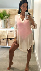 Maldives Coverup - Beige