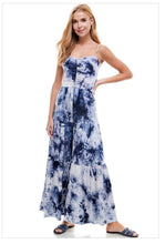 Load image into Gallery viewer, Tie Dye Jumpsuit - BLUE