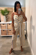Load image into Gallery viewer, Love Tree Stripe Jumpsuit