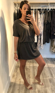 Miami Basic T Shirt Dress