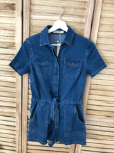 Load image into Gallery viewer, Denim Romper
