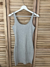 Load image into Gallery viewer, Gray Zipper Dress