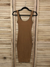 Load image into Gallery viewer, Convertible Midi Dress - Tan