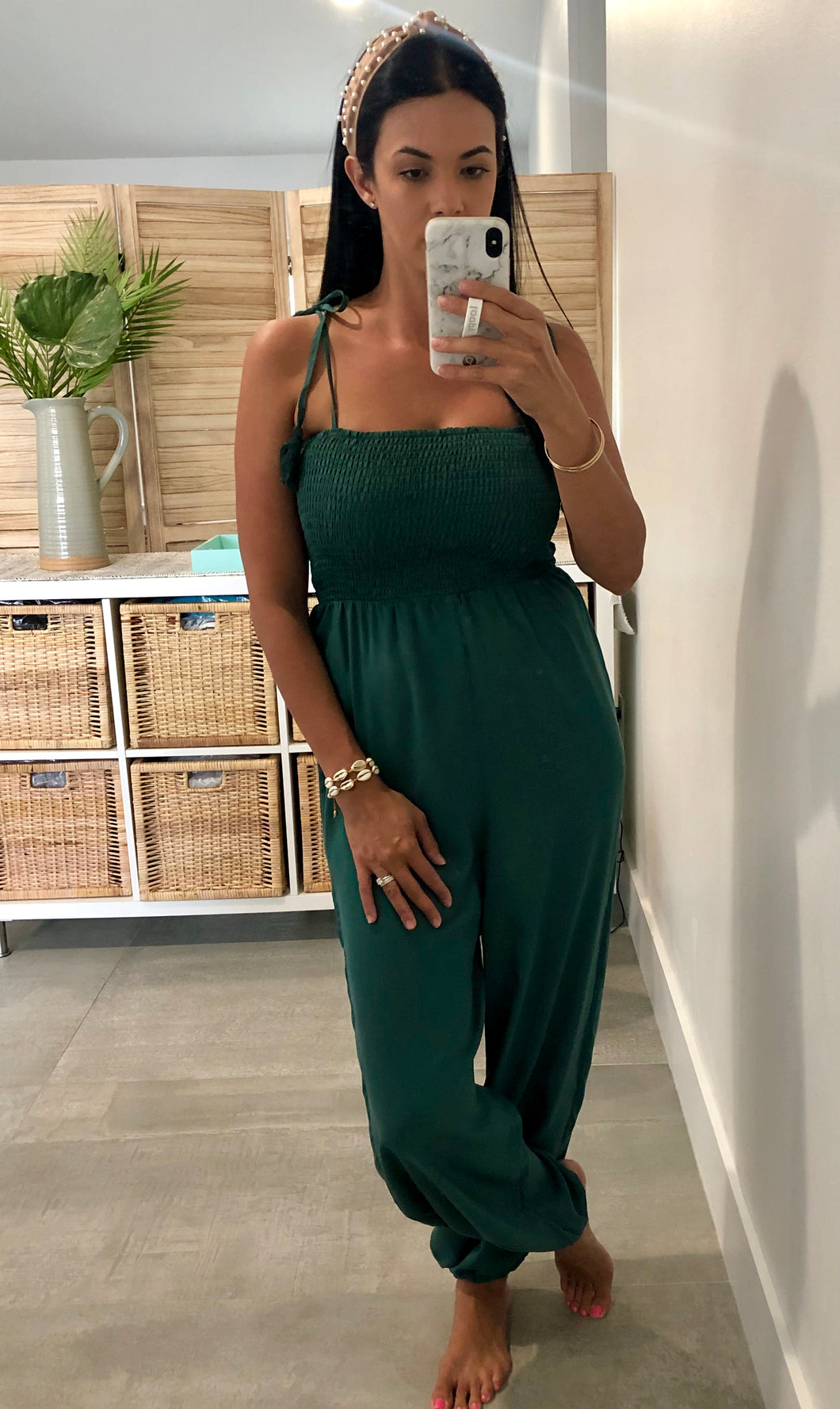 Emerald Cove Jumpsuit