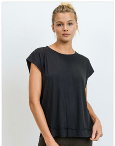 Noir Chic Top