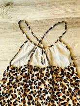Load image into Gallery viewer, Lush Life Leopard Romper