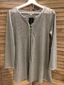 Dance & Marvel - Gray Lounge Dress