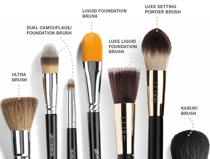 Choosing the best brushes for your powder foundation