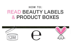 How to Read Beauty Labels