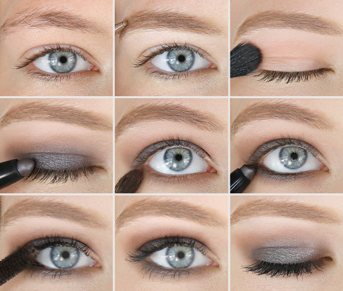 metallic-smokey-eye