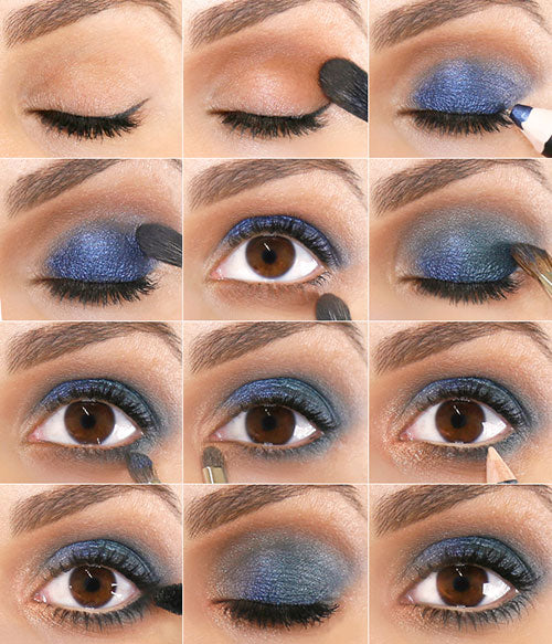 wearable blue smokey eye