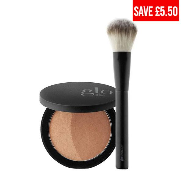 Bronze Sunkiss + Powder Perfector Brush