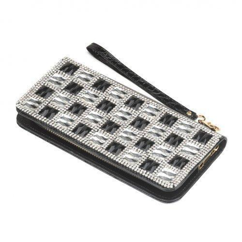 Checker Glass Wallet (pack of 1 EA)