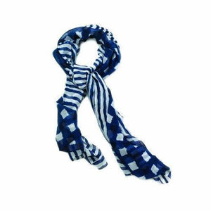 Navy Vogue Scarf (pack of 1 EA)