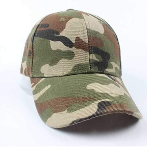 Vintage Men Military Hunting Fishing Hat Women Army Adjustable Baseball Outdoor Cap