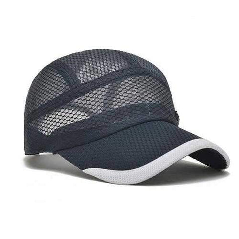 Unisex Men Women Mesh Quick Dry Baseball cap Breathable Outdoor Sport Adjustable Hat