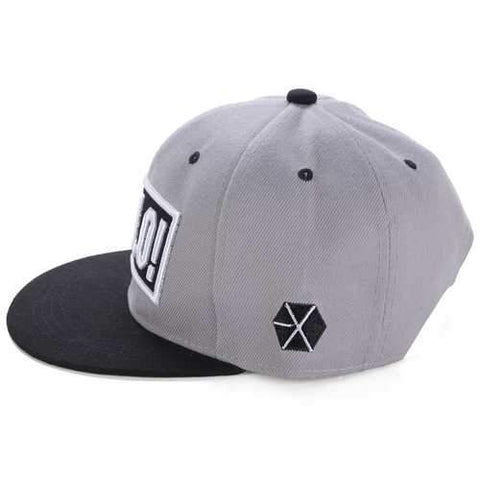 Unisex Letter Hello Embroidery Baseball Cap Adjustable Hipster Outdooors Flat Hip-hop Hats