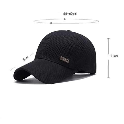 Men Women Summer Breathable Sport Baseball Cap