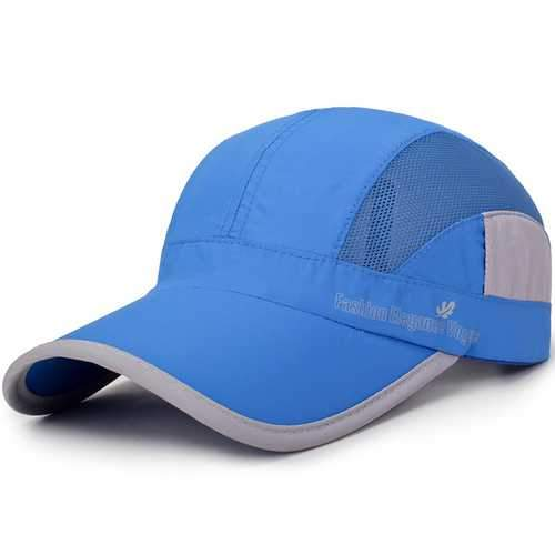 Men Women Summer Breathable Quick Dry Hat Visor