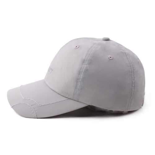 Men Women Summer Plain Breathable Quick Dry Hat