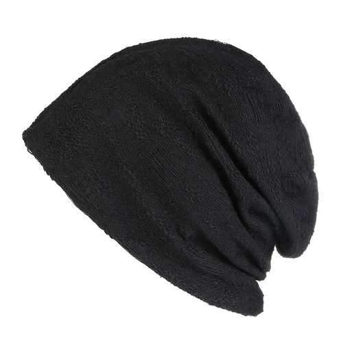 ens Womens Vogue Cotton Double Layers Beanie