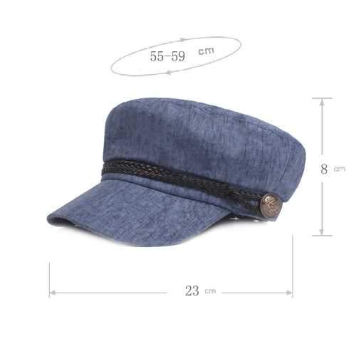 Men Women Linen Sunshade Military Army Cap