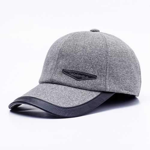 Men Women Middle-aged Cotton Baseball Caps
