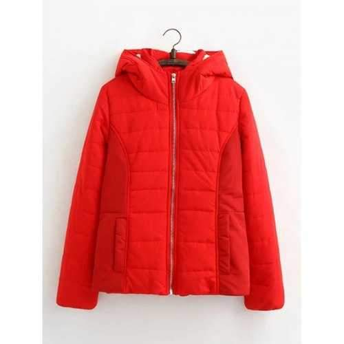 Padded Jacket - Red S