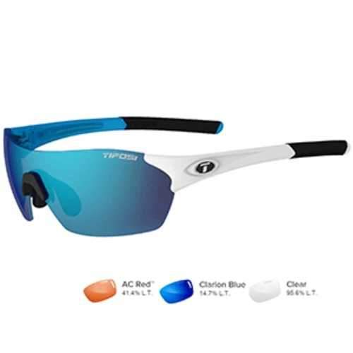Tifosi Brixen Skycloud Sunglasses - Clarion Blue/AC Red™/Clear