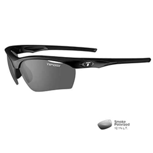 Tifosi Vero Gloss Black Polarized Sunglasses - Smoke Polarized