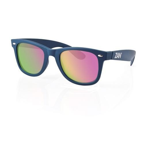 ZANheadgear Winna Sunglass w/Steel Blue-Smoked Purple Mirror