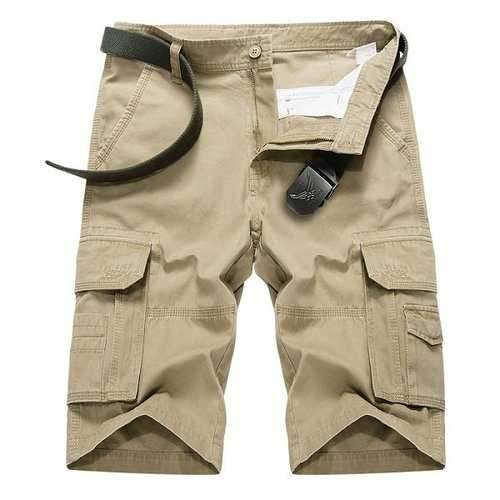 Outdoor Multi-pocket Cotton Shorts