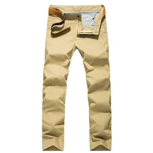 Mens Breathable Perspiration Wear-resistant Straight Trouser