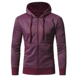 Mens Snowflake cloth Zip Up Casual Sport Hoodies