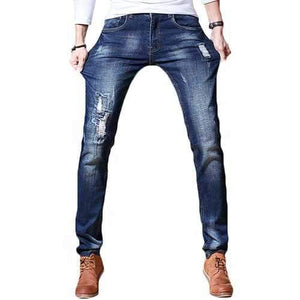 Business Casual Elastic Jeans