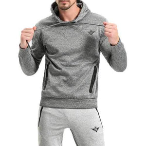 Solid Color Casual Sport Hoodies