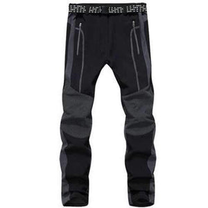 Mens Outdoor Thick Warm Pants