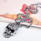 ZIRIS The new Europe and the United States long hip hop necklace pendant wish amazon platform skulls non-mainstream man sautoir-