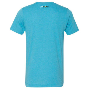 What A Googan Fishing Tshirt Heather Aqua